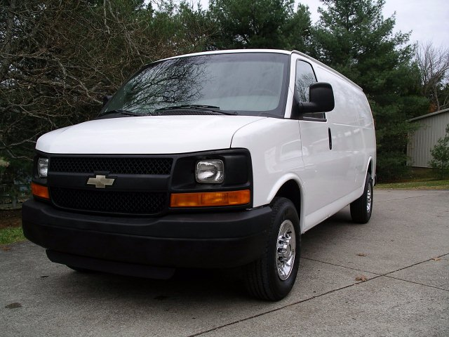 2013 Chevy Express 2500 Extended Cargo